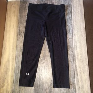 EUC under armour tights. Size small. 3/4 length